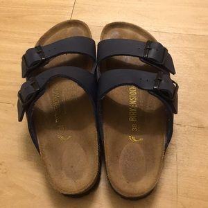 Vintage Birkenstock sandals—lightly worn